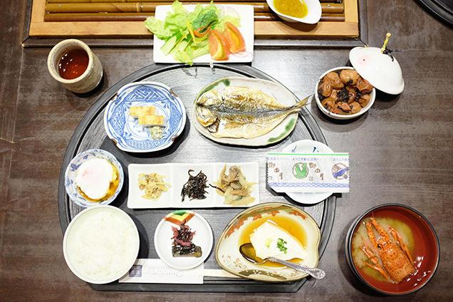 観音温泉 朝食