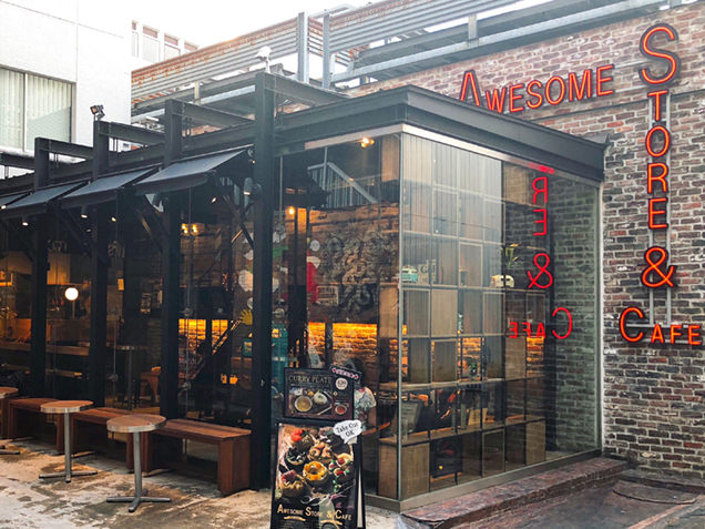 AWESOME STORE & CAFE 外観
