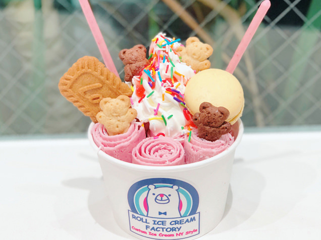 ROLL ICE CREAM FACTORY ロールアイス