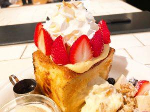 J.S. PANCAKE CAFE チーズケーキクリーム フレンチトースト