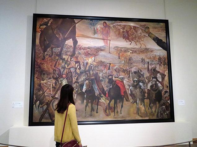 諸橋近代美術館 テトゥアンの大会戦