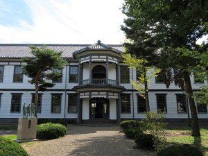 安積歴史博物館 外観
