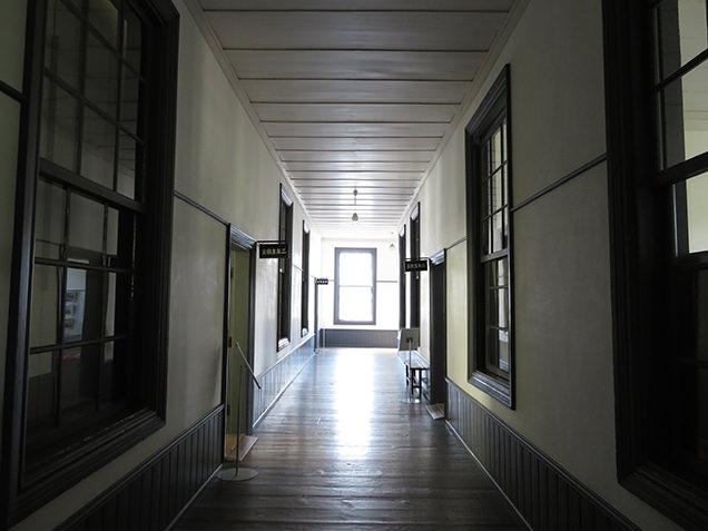 安積歴史博物館 館内