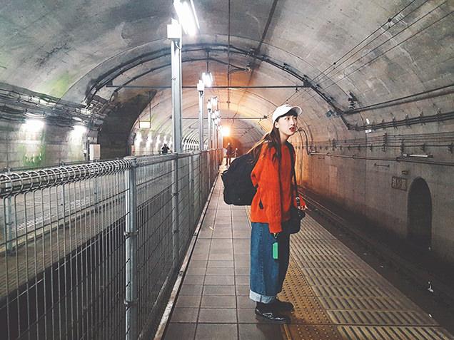 JR土合駅 ホーム
