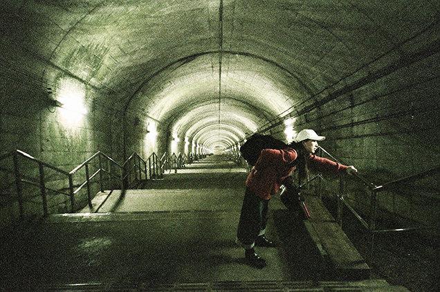 JR土合駅 階段