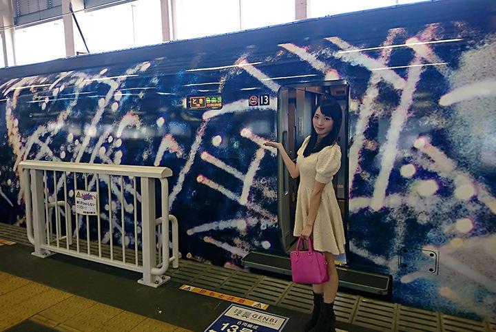 世界一速い美術館!? 現美新幹線で現代アートを鑑賞!