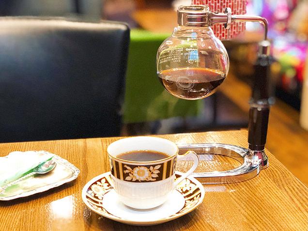 Cafe patina サイフォンコーヒー