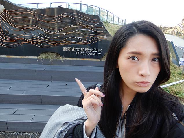 鶴岡市立加茂水族館 モニュメント