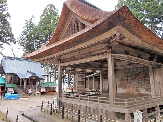 白山神社 能舞台