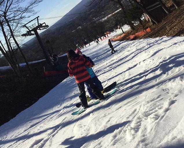 軽井沢スキー学校 スノーボードのレッスン