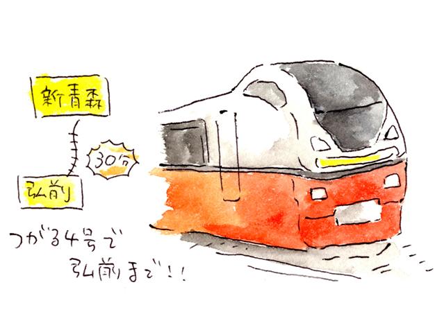 つがる4号 イラスト