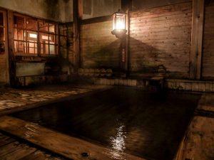 青荷温泉 健六の湯 夜