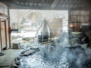 青荷温泉 露天風呂