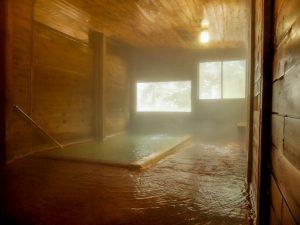 古遠部温泉 浴室