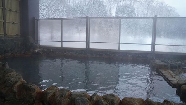 打当温泉マタギの湯 露天風呂