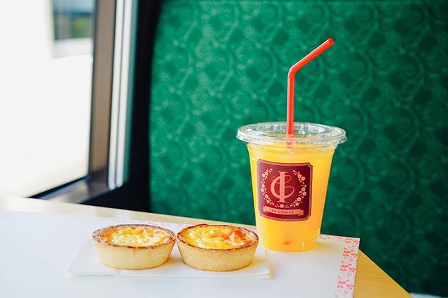 伊豆クレイル ニューサマーオレンジタルト オレンジジュース