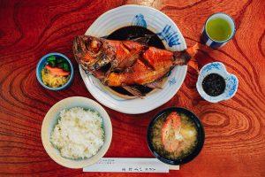 魚料理 いず松陰 「煮魚でお食事」