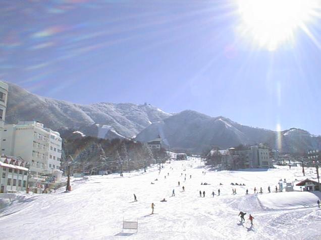 竜王スキーパーク ゲレンデ