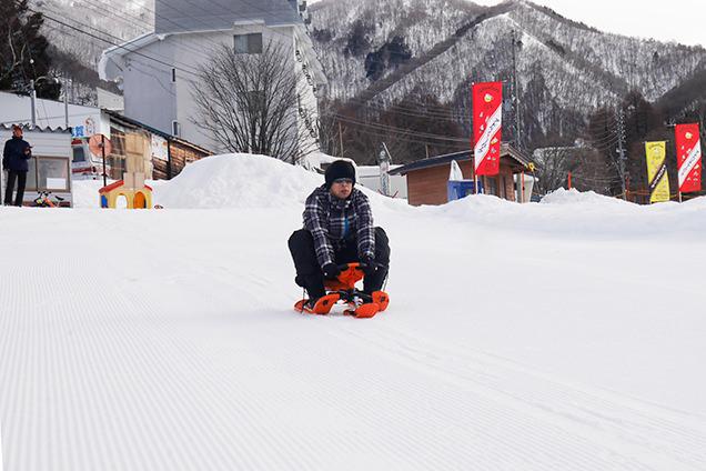 竜王スキーパーク アドベンチャーパーク ソリ