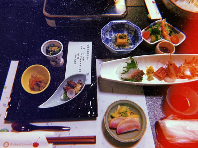 松金屋アネックス 夕食