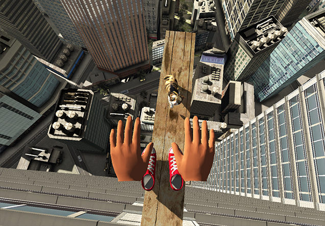 VR ZONE SHINJUKU 極限度胸試し 高所恐怖SHOWの映像