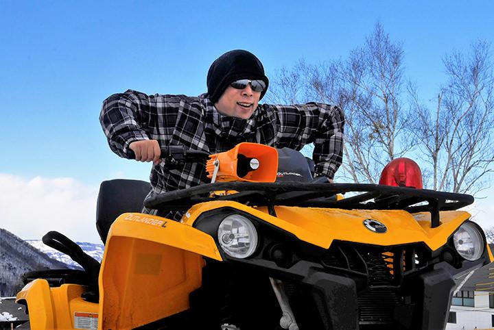 私を竜王スキーパークに連れてって!雪上バギー、チュービングに挑戦