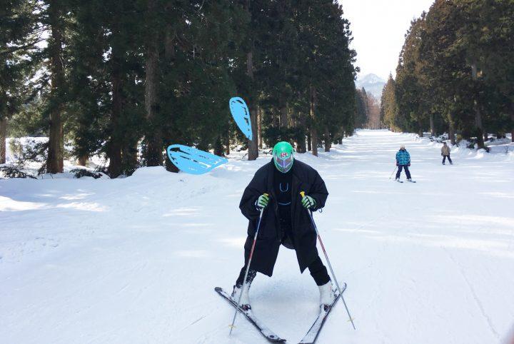 赤倉温泉スキー場の魅力を、覆面プロレスラーがパワポでプレゼンしてみた