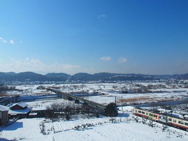 上越新幹線 車窓の風景