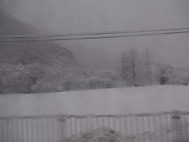関越交通バス 水上線 車窓の風景