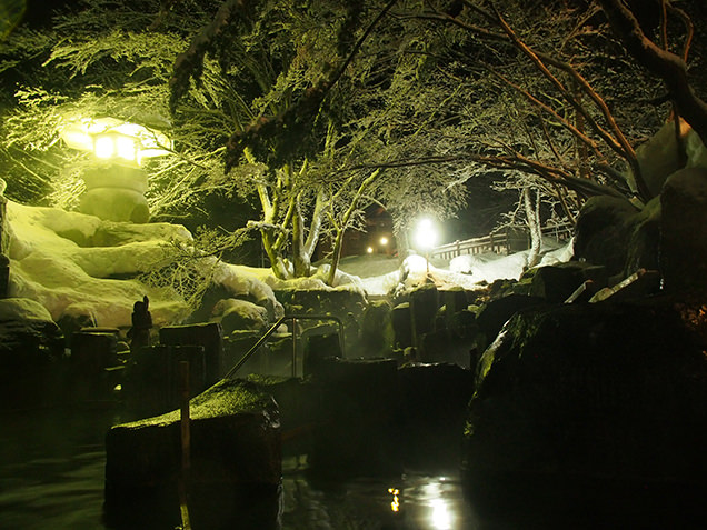 宝川温泉 汪泉閣 摩訶の湯