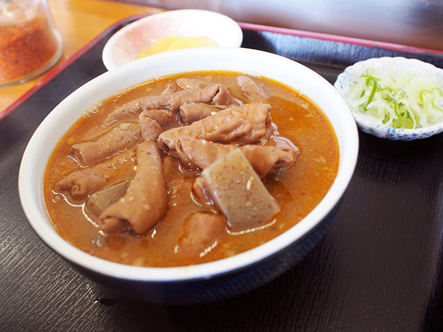 永井食堂 もつ煮