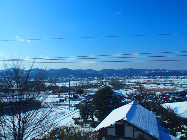 上越新幹線 車窓からの風景