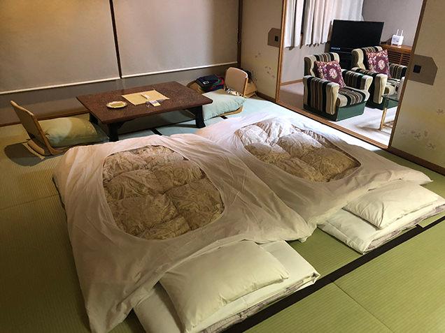 赤倉ホテル 客室 布団