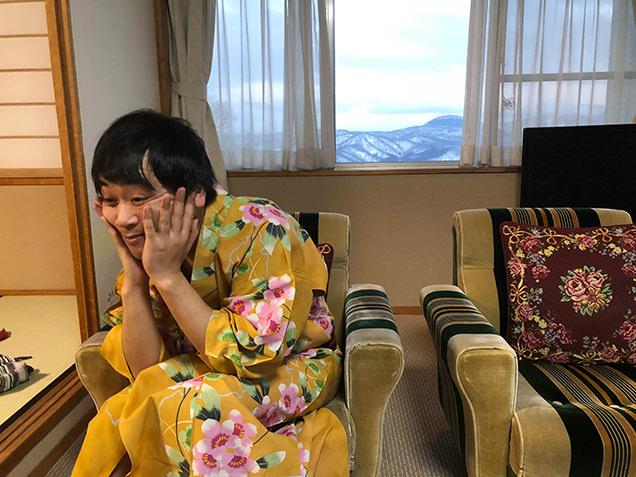 赤倉ホテル 客室 金子さん