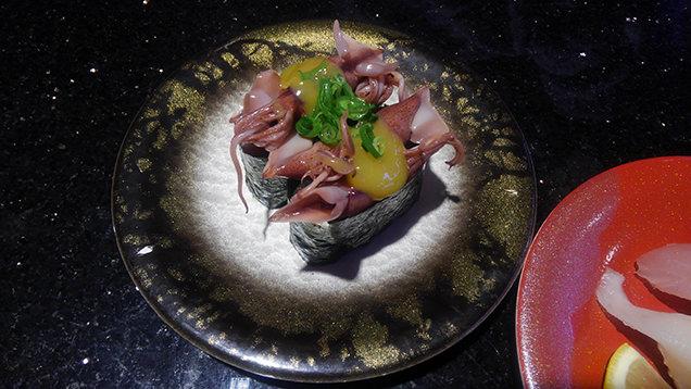 氷見きときと寿司 飯野店 茹でホタルイカ酢味噌