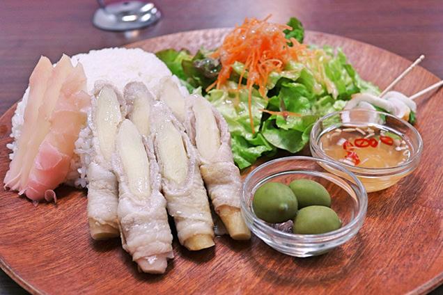 カフェニュージンジャー 新生姜肉巻きプレート