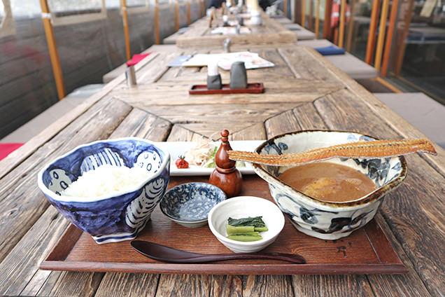江ノ島小屋 漁師汁定食