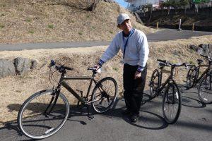 サイクリングツアー 自転車説明