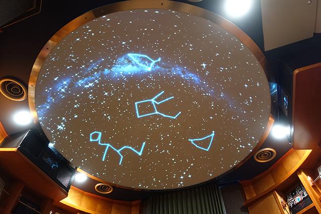 美しい星空が見られるプラネタリウム