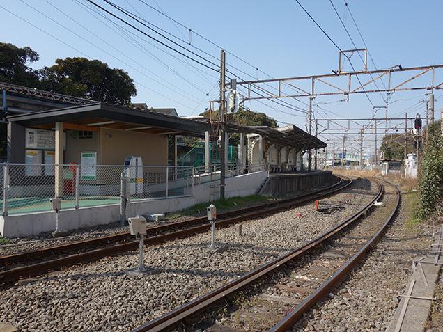 昭和駅 ホーム