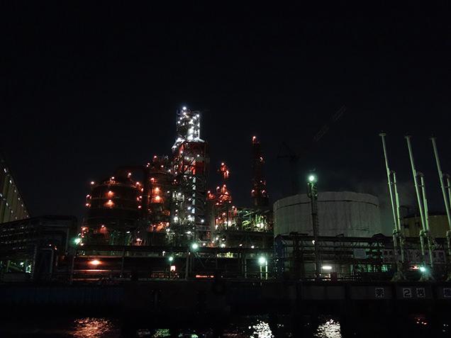 工場夜景探検クルーズ 工場夜景