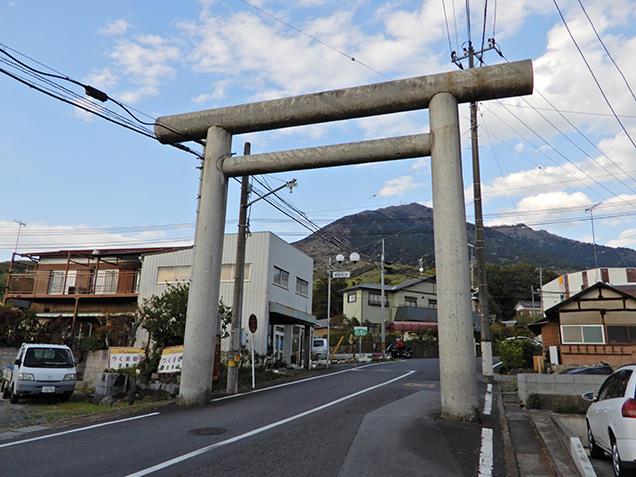筑波山のふもと