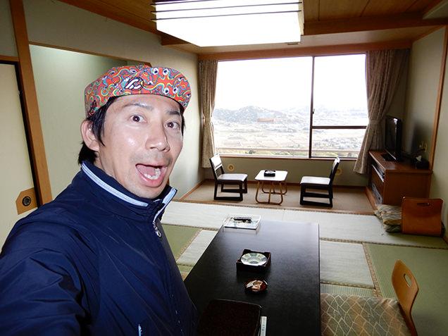 筑波山ホテル青木屋 部屋とライター