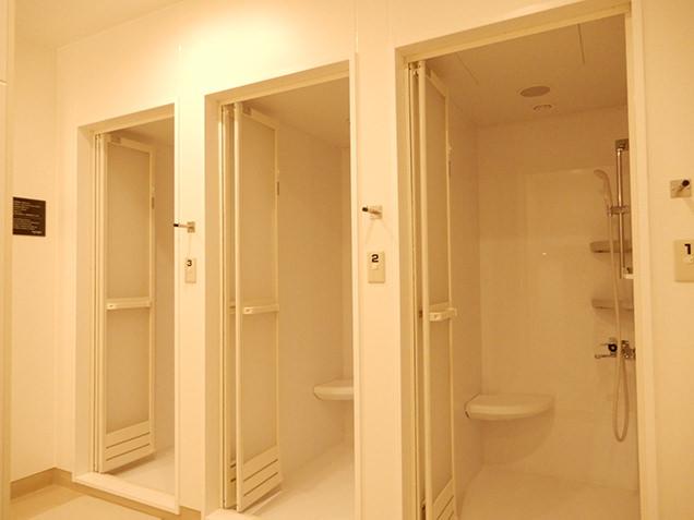 りんりんスクエア土浦 シャワー室
