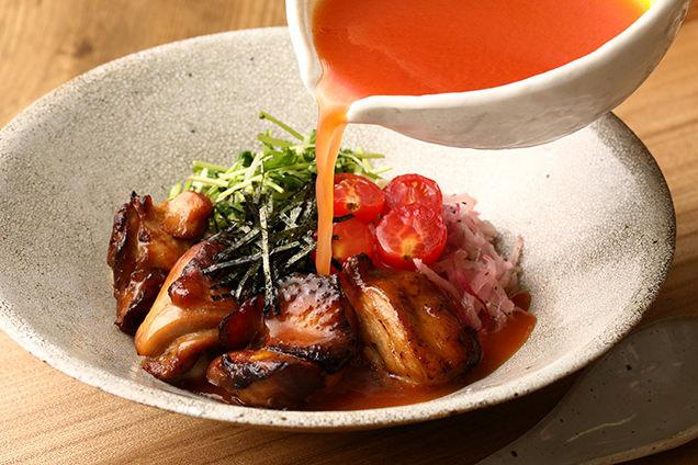 今日のごはん和saiの国のスープKaKeごはん