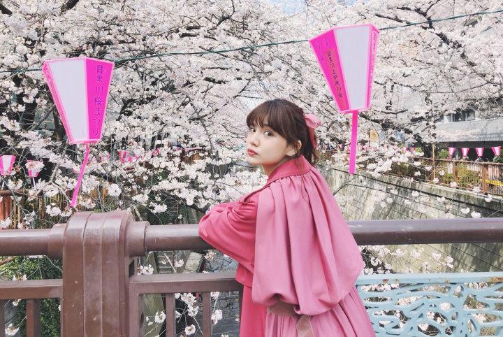 村田倫子の東京お花見散歩。目黒川&六本木の桜は必見!