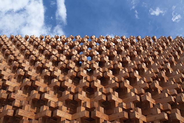 建築の日本展 「ミラノ国際博覧会2015 日本館」