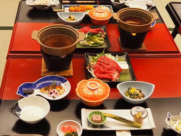 湯杜 匠味庵 山川 宿の夕食