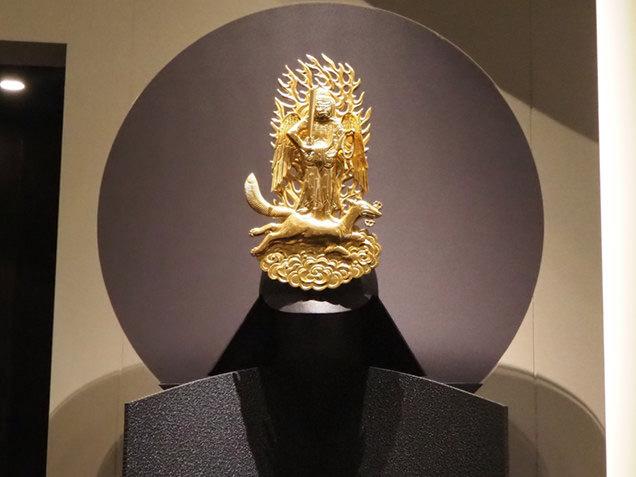 米沢市上杉博物館 上杉謙信の兜