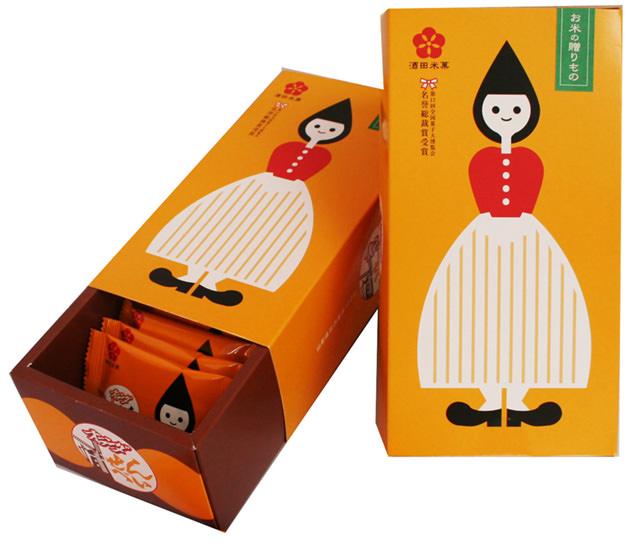 酒田米菓の「オランダせんべい」
